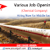 Job Openings at Dow Chemical Co. - UAE | SAUDI ARABIA
