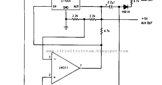 memory save on power down circuit diagram