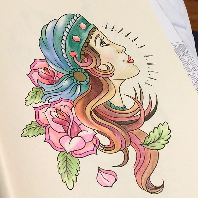 the pros and cons of the tattoo coloring book - The Tattoo Coloring Book
