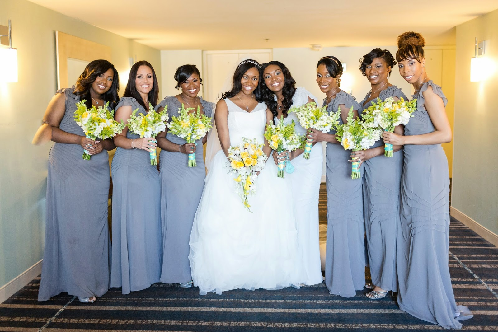 Velda\'s Wedding at the Doubletree in Columbia, MD – Sweet Blossoms