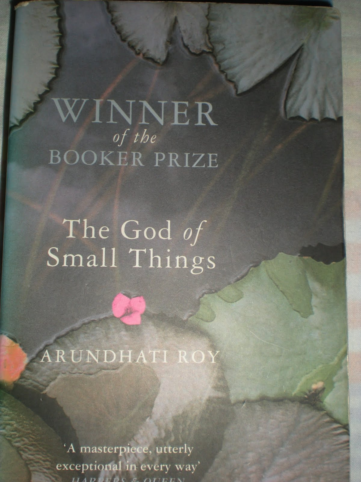 God of the Small Things Cover