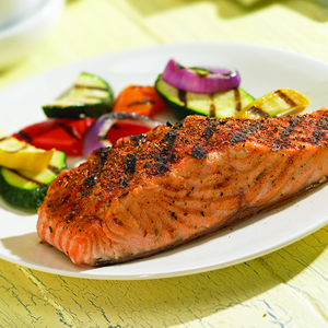 Quick and Healthy Meals: Grilled Salmon with Lime Butter Sauce