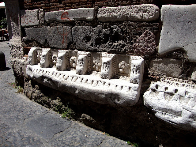Dettaglio del Campanile della Pietrasanta