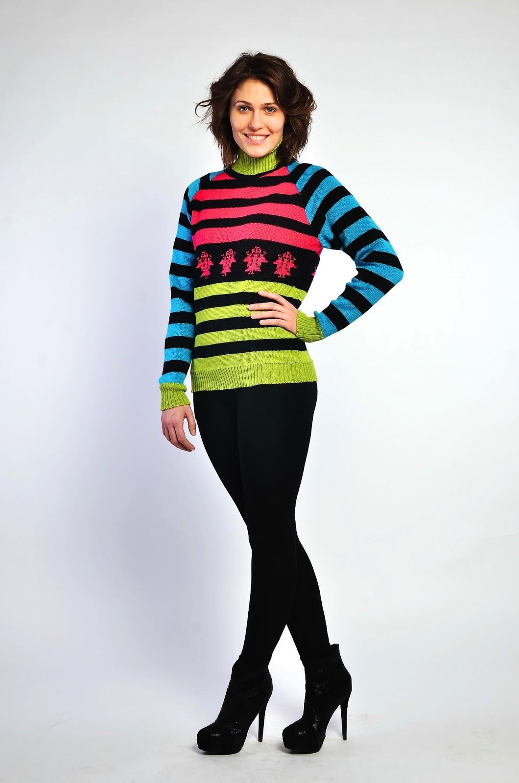 свитер с орнаментом