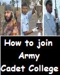 How to join Army Cadet College of Indian Army