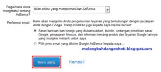 Cara mendaftarkan kembali blog yang ditolak Google Adsense