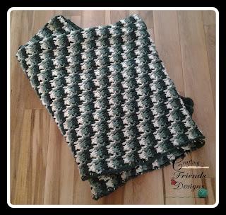 Camo Afghan Crochet Pattern