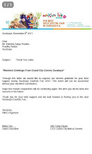 Thank You Letter From Grand City Mall