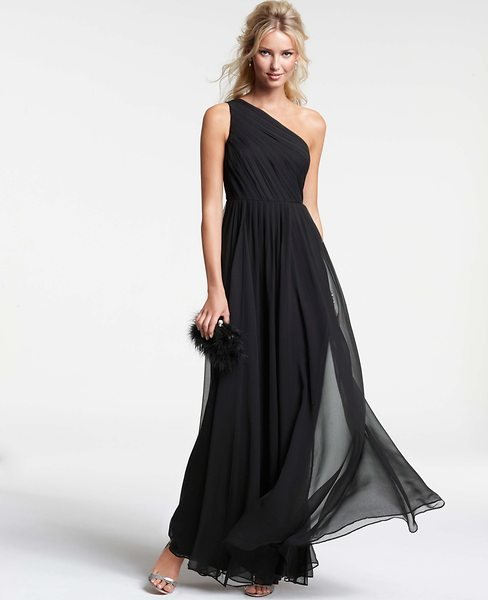Myne whitman writes would you wear a black wedding dress for Black designer wedding dresses