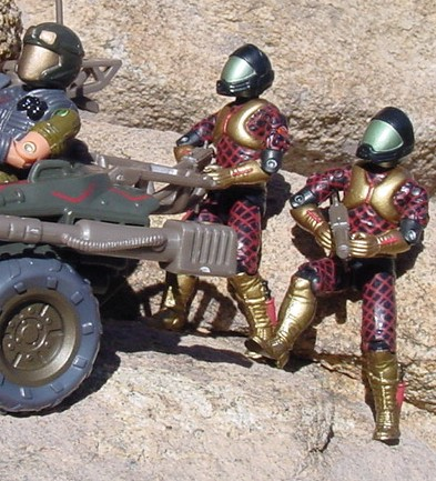 2003 Python Patrol Lamprey, TRU Exclusive, Major Bludd,