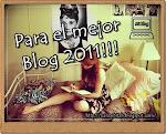 Premio para el mejor blog 2011