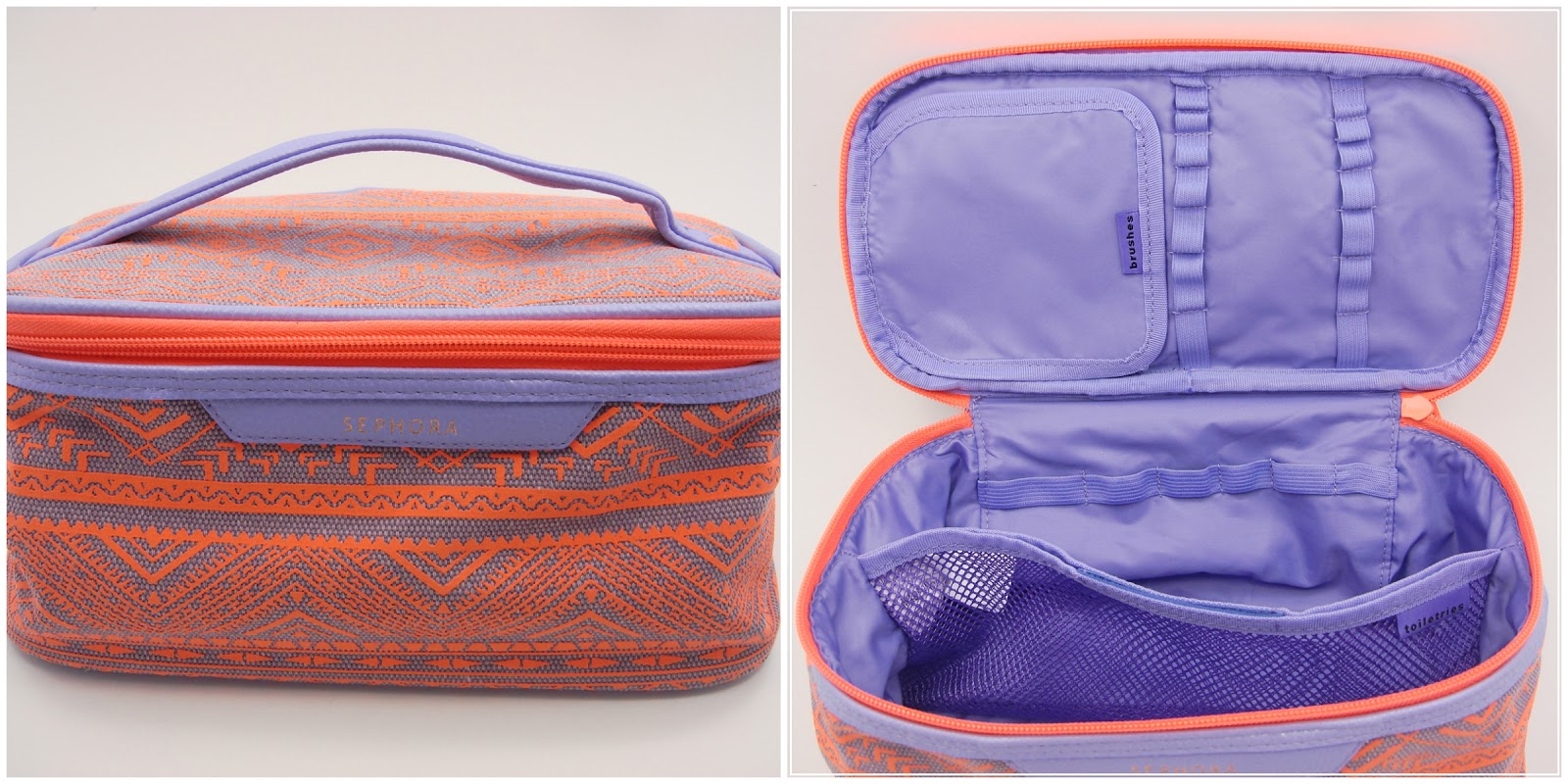 sephora makeup bag the vacationer. sephora collection - the vacationer in lipstick jungle makeup bag