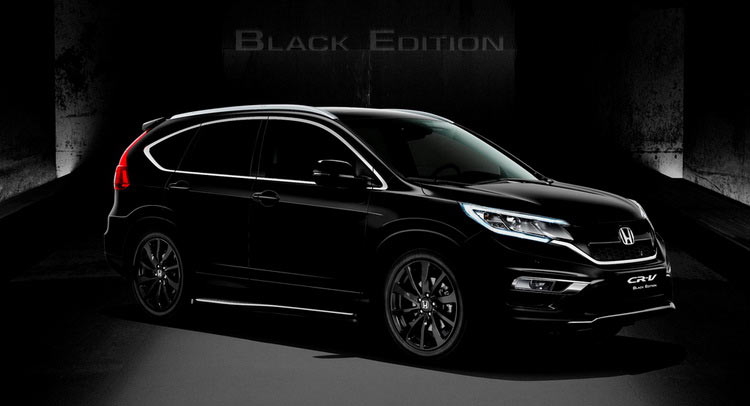 Honda Launches Civic Limited And CRV Black Editions In The UK