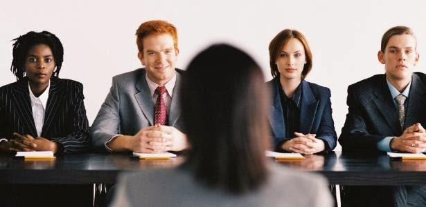 Seleção em entrevista de emprego