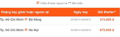 Vé máy bay giá rẻ đi Đà Nẵng, Hà Nội, Tp.Hồ Chí Minh trong tháng 9 của Jetstar
