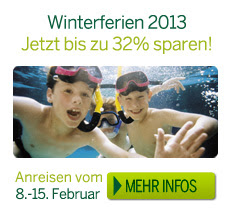 Winterferien Angebot Center Parcs