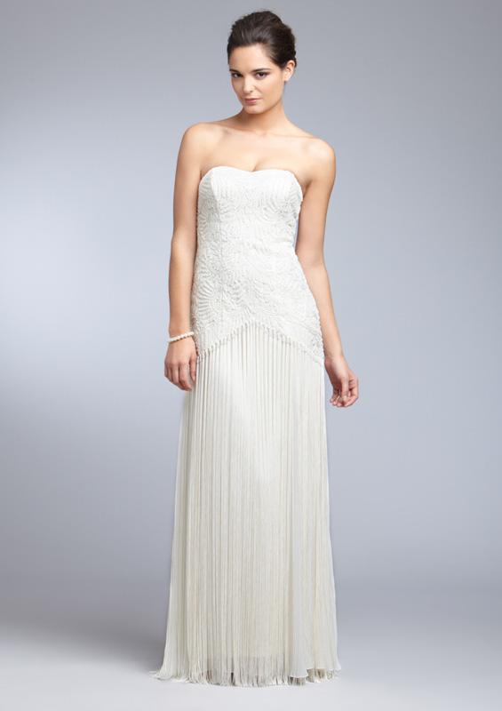 Mariages r tro robe franges pour les mari es des ann es for Sue wong robes de mariage