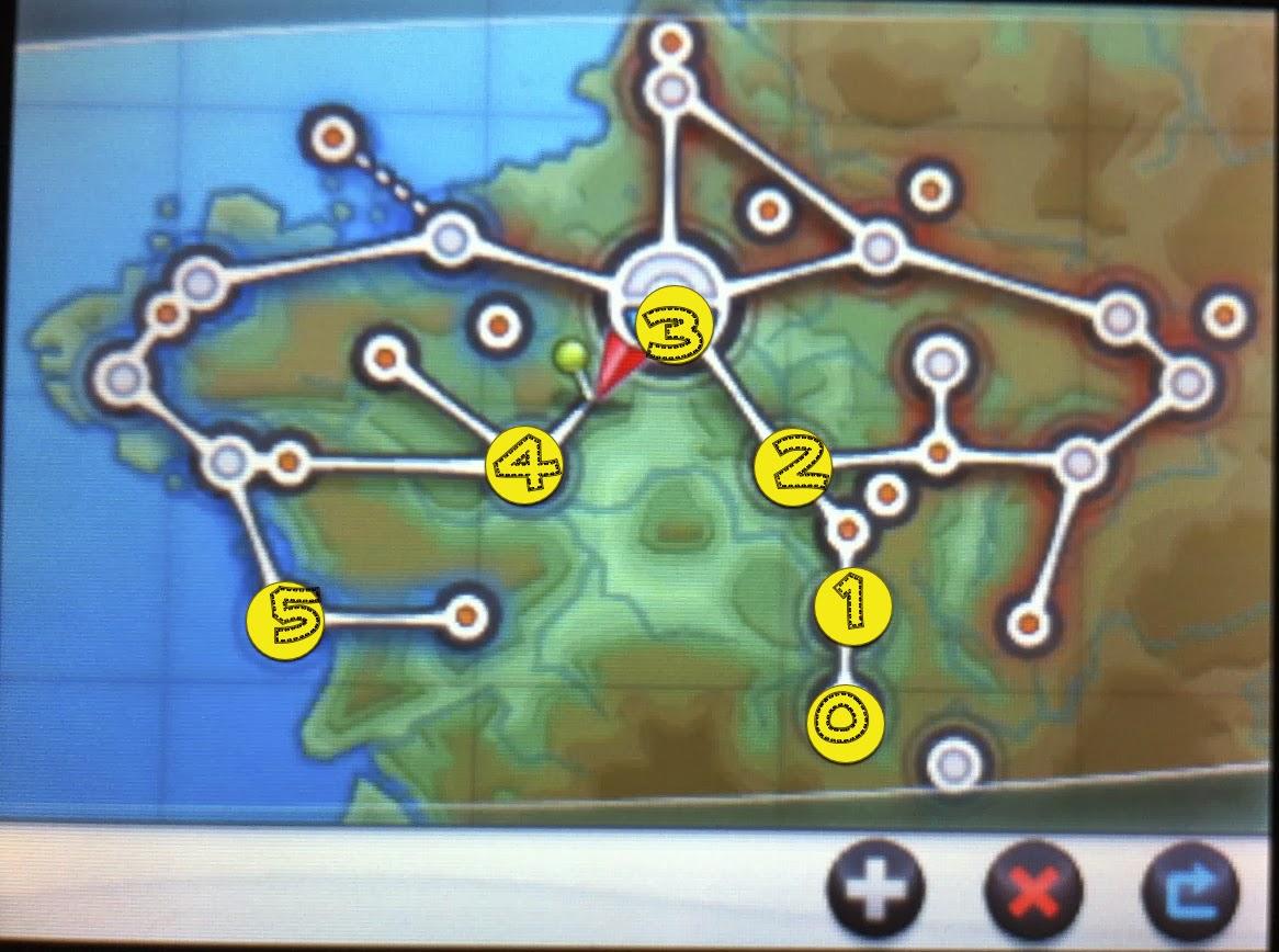 僕のゲーム秘密基地: ぶらりカロス旅⑤ [ポケモンxy]