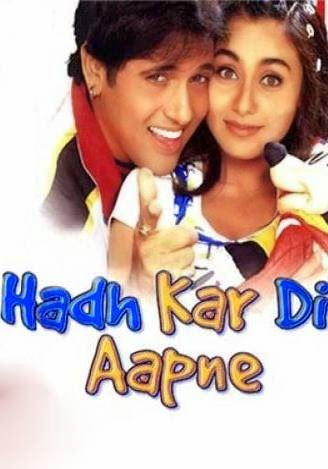 Hadh Kar Di Aapne 2000 Hindi HDRip 480p 400mb