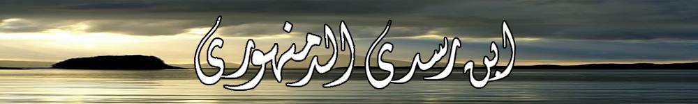 Ibnu Rasdi Ad-Damanhuri