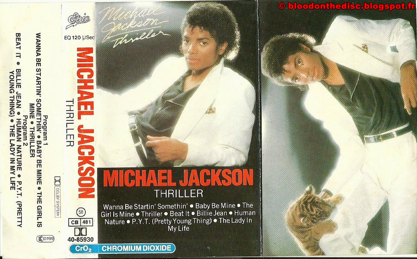 Thriller K7 Cover