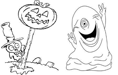 Dibujos de miedo para colorear Bebes y embarazo