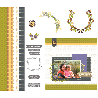 Stampin' Up! Enjoying Everything Digital Kit