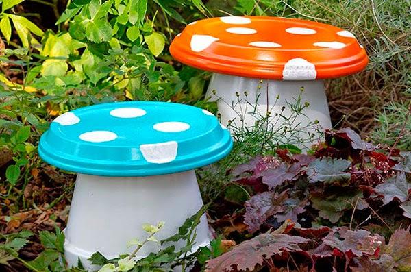 Las creaciones de antadi personalizar tu jard n for Como decorar el jardin con cosas recicladas