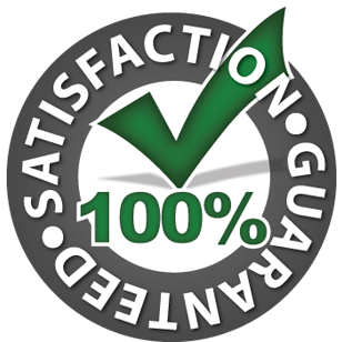Satifaction Guaranteed 100%