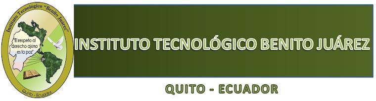 Instituto tecnológico Benito Juárez