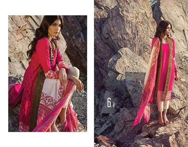 Sana Safinaz Shawl 2014-2015 Catalog