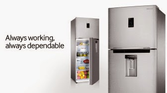 Flipkart : Samsung Refrigerator 415 Ltr Double Door at lowest online at Rs.36,662 : Buy To Earn