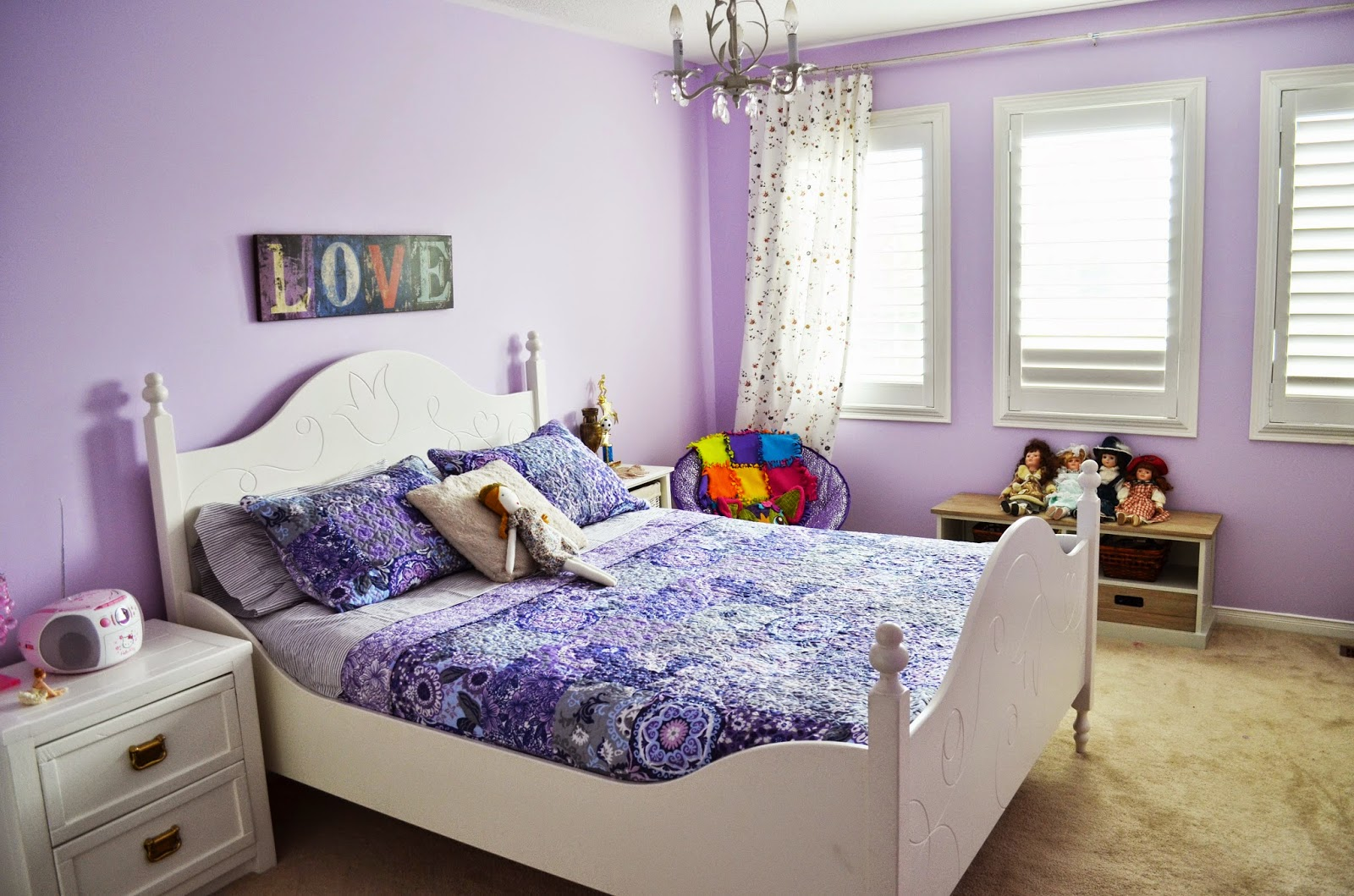 Lavender bedroom ideas
