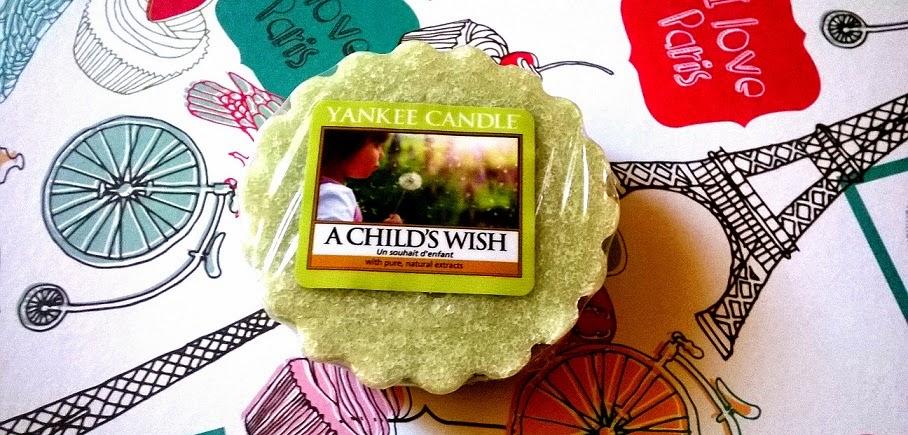 [Yankee Candle] Zapach dziecięcych marzeń