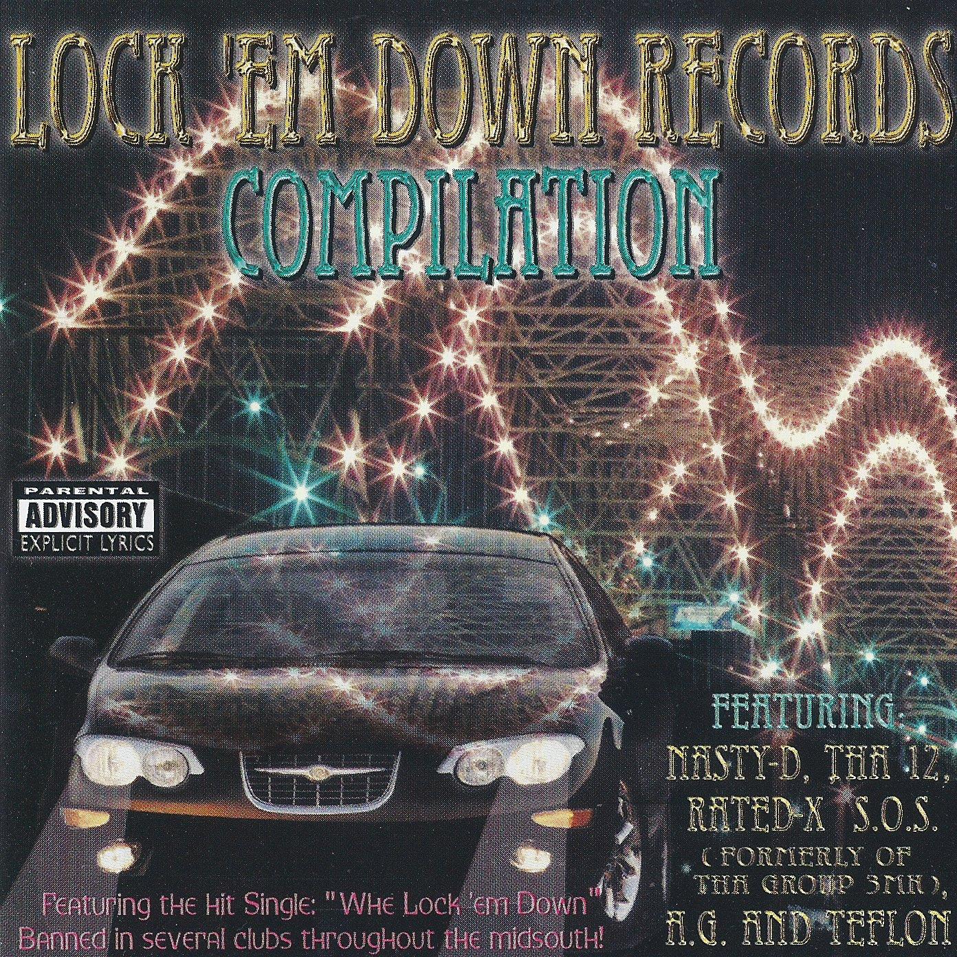 k nela records 3mk lock em down records compilation 1999. Black Bedroom Furniture Sets. Home Design Ideas