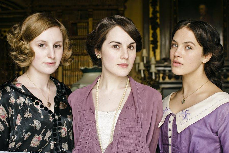 Newly Domesticated: Today I Like ... Downton Abbey Makeup