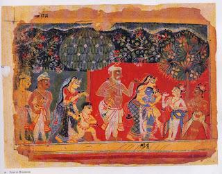 Scene in Brindavan