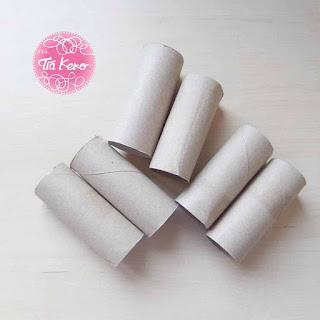 Tía Keko manualidades niños rollos higienicos