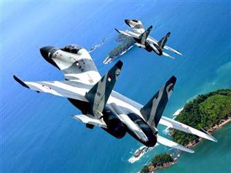 Sukhoi TNI AU berhasil menangkap pesawat asing yang melintas di wilayah udara Kalimantan Barat.