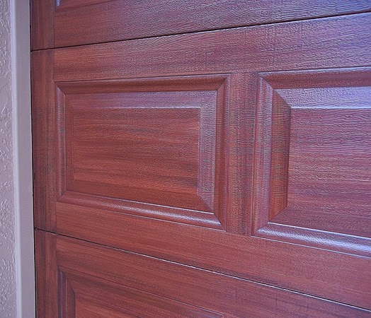 Garage door tutorial everything i create paint garage for Paint garage door to look like wood