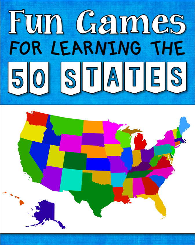 Learn States and Capitals - Game - Allfunapps.com