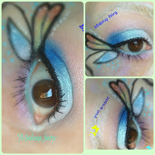eye makeup butterfly fairy