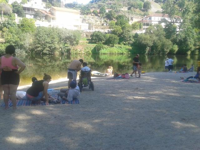 Areal Praia Fluvial Quinta Barco