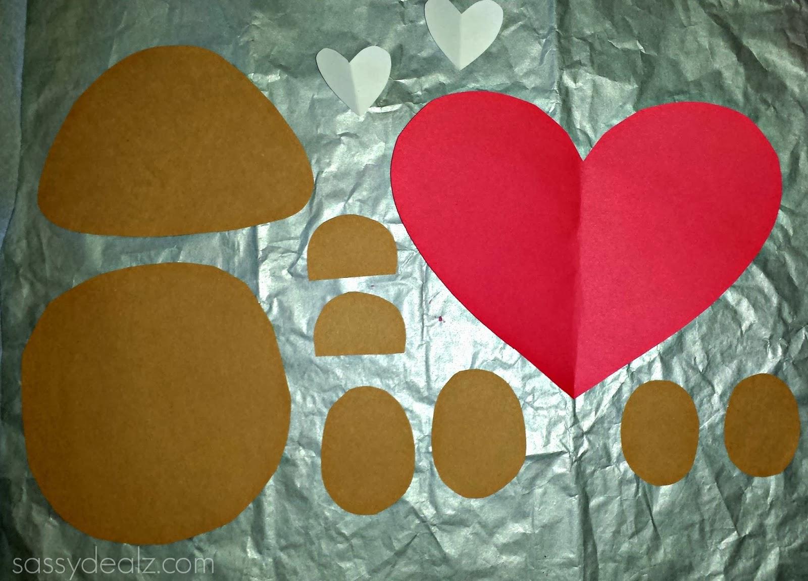 I love you beary much valentine bear craft for kids crafty morning bear valentine craft jeuxipadfo Images
