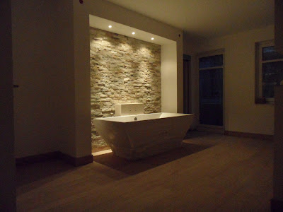 bautagebuch jette joop europe life steinwand im badezimmer. Black Bedroom Furniture Sets. Home Design Ideas