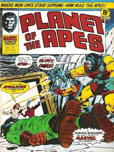 Marvel UK, Planet of the Apes #26, Killraven