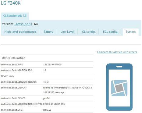 LG Full HD-Smartphone F240K