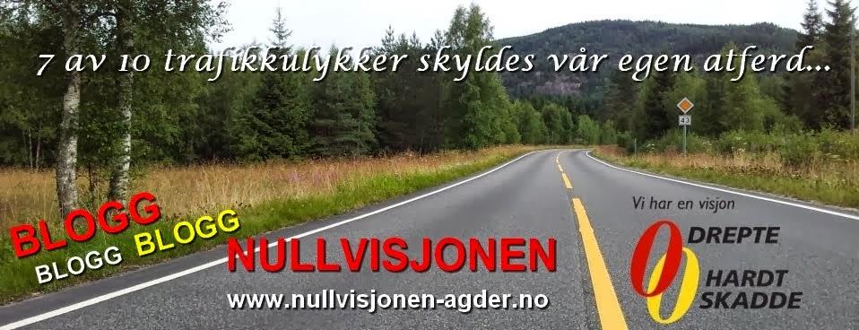 Nullvisjonen Agder - BLOGG