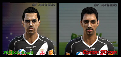 foto PES 2012: Faces Fagner e Diego Souza do Vasco Da Gama