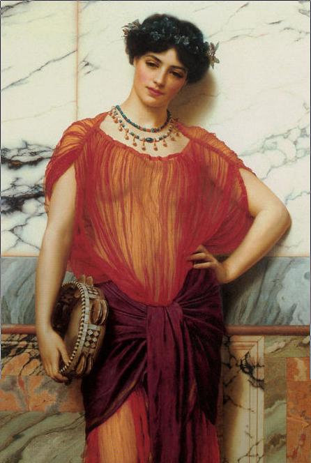 godward drusilla painting